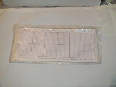 Knitting Machine Accessory: Singer Style Blank Punch Cards Pack Of 10