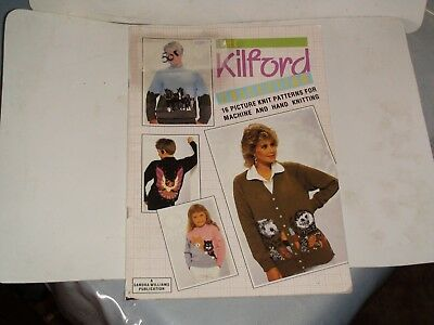 Knitting Machine Magazine/ Book: The Kilford Collection Picture Knits