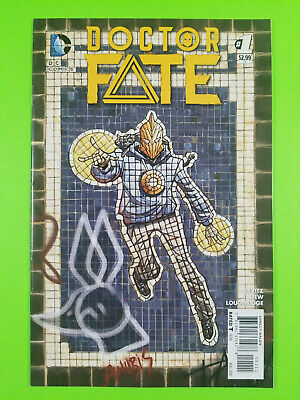 Doctor Fate #1 NM- 1st print New 52 1st app Khalid Nassour DC Comics 2015