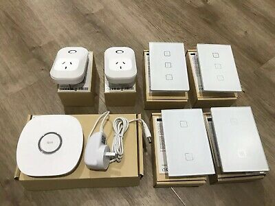 Nue Zigbee Smart Home setup. Hub/Bridge wall switches, smart switches/sockets