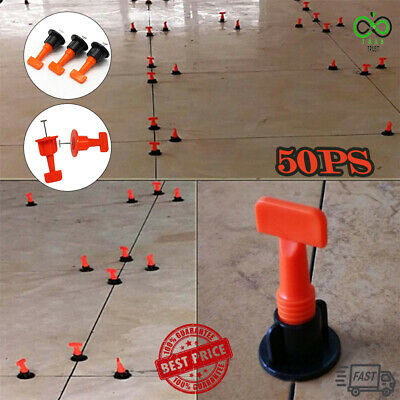 TitlePRO™ Reusable Anti-Lippage Tile Leveling System (50 Pcs/Pack) FAST SHIPPING