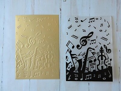 Embossing Folder   -  Music Notes
