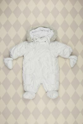 BABY CLUB C&A Winter-Overall D 62 weiß