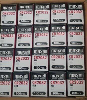 FOR SALE: Maxell CR2032 3V Lithium Button Cell Battery