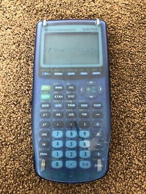 Texas Instruments TI-83 Plus Graphics calculator with cover included!