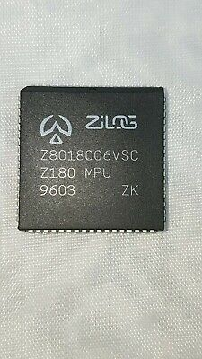 Z180 MPU Kit Z8S18033VSC 512K SRAM KM684000BLP 512K Flash EEPROM AM29F040B