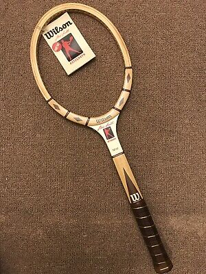 huge discount e1b8e 73b32 NOS WILSON STAN Smith Autograph Tennis Racquet