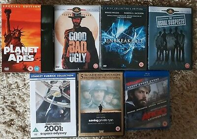 Family Films On DVDs, The Usual Suspects, Planet Of The Apes, ARGO, GC, Job Lot.