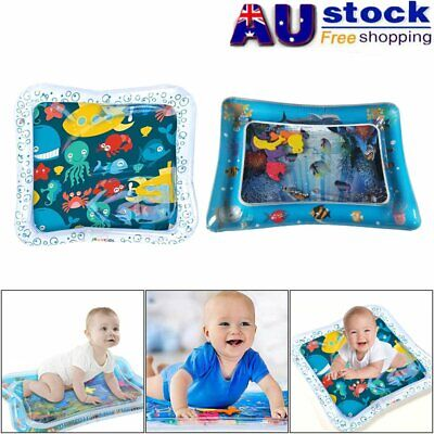Water Filled Play Mat Inflatable Baby Water Fun Cushion for Children Infants MN