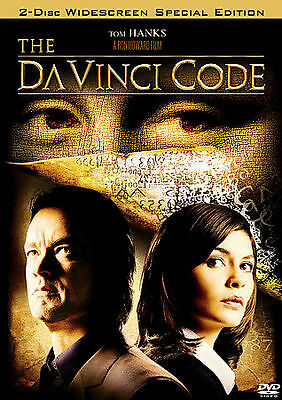 The Da Vinci Code (Widescreen Two-Disc Special Edition), Very Good DVD, Alfred M