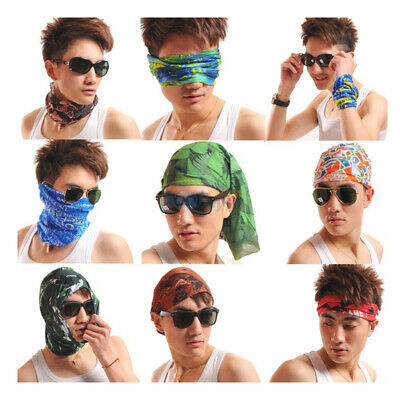 Unisex Adult Multi-function Magic Scarf Outdoor Breathable Headscarf Pirate Hat