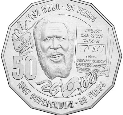 2017 Eddy Mabo - Pride & Passion .50 Coin Unc. From Mint Bag Rare Low Mintage