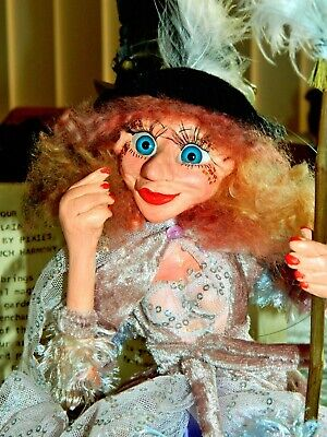 Branbria Kitchen Witches, Wizards & Fairies ~ Magical ~ OOAK Doll Hand Sculpture