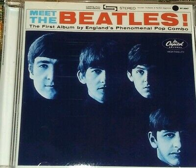 Meet The Beatles in Stereo/Mono CD! 24 Total Tracks!
