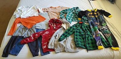 Bulk Lot Winter Boys Clothing - Size 4 - 12 Items!