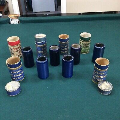 edison player cylinders