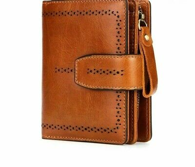 Nylon Wallets Fashion Genuine Leather For Women Coin Purse Female Ladies Zippers
