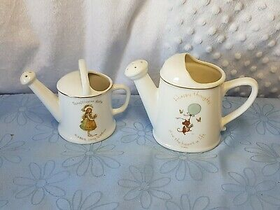 Vintage Genuine Porcelain Holly Hobby & Tiny Talk By Sands, Usa.  Made In Japan.