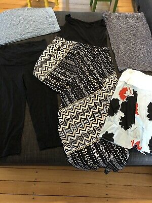 Maternity Clothes Size 10-12 - 5 Pieces Of Clothing