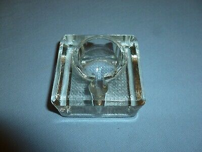 Glass Ink Well / Inkwell - Fountain Pen Antique Vintage Retro Old Collectable