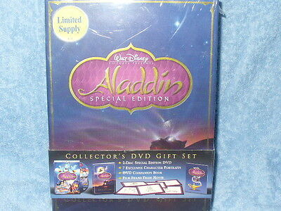 Aladdin (DVD, 2004, 2-Disc Set, Special Edition - Gift Set)