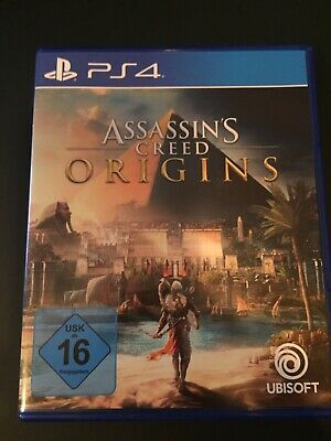 TOP ASSASSINS CREED ORIGINS Spiel für PS4, Playstation 4, neuwertig TOP