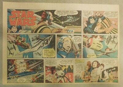 Star Wars Sunday Page # 67 by Russ Manning from 6/15/1980 Large Half Page Size!
