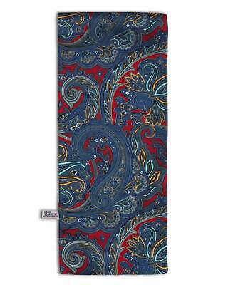 Blue Paisley Scarf Mod Scooter Vintage by Soho Scarves 60's Retro G