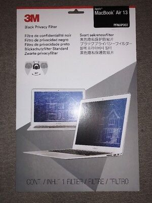 NEW 3M Matte Privacy Filter for Apple MacBook Air 13-inch Brand New