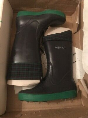 Golf Bottes Pluie Avec Crampons Size 40 Okespor Unisex All Weather Boots New