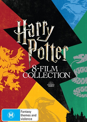 Harry Potter - Limited Edition : 8 Film Collection (DVD, 16-Disc Set) NEW