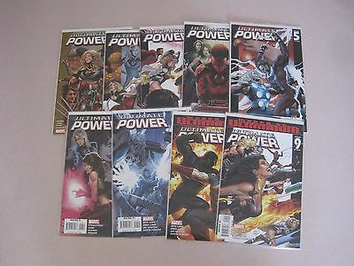 Ultimate Power #1-9 VF/NM Complete Series~ Squadron Supreme Power + Annual