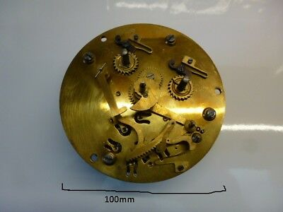 Japy frere 8 day working clock movement