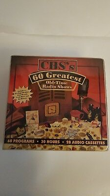 CBS's 60 Greatest Old Time Radio Shows Audio Fiction 1998