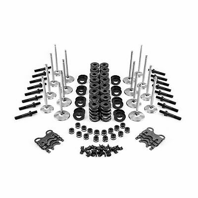 "Head Build Valvetrain Kit Small Block Chevy 7/16"" Hydraulic Flat Tappet"
