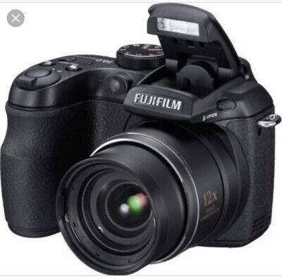Fujifilm FinePix S Series S1500 10.0MP Digital Camera - Black
