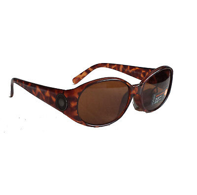 STYLIZE women sunglasses brown tortoise 100% UVA UVB with black pouch !!