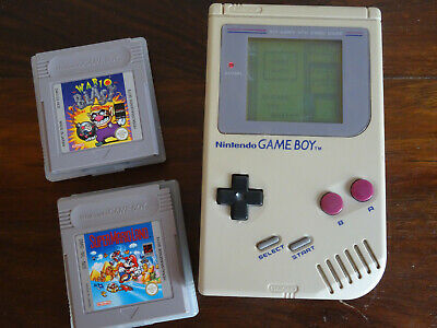 Nintendo Game Boy Classic Gameboy Tetris Super Mario Land Wario Blast