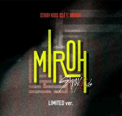 STRAY KIDS Clé 1 : MIROH Limited Ver. K-POP CD + PHOTOCARD + FOLDED POSTER NEW