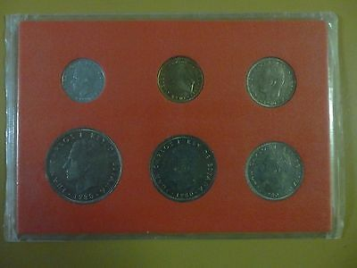 Spain 1980 6 Coin Set 5 Centisimo - 100 Pesetas