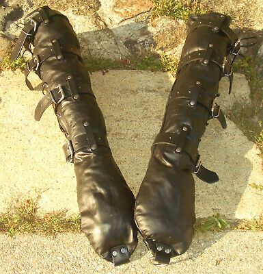 leather binding fist mitts boundshop.de Zwangsjacke opera gloves Handschellen