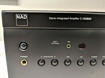 NAD C356BEE INTEGRATED Amplifier  80 watts per channel, with DAC module