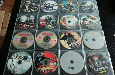 Action movie Dvd Bundle 16 Movies(Discs Only)