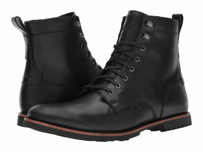cad7c7358abd59 TIMBERLAND KENDRICK SIDE-ZIP Lace Boots Black Leather A1N19 Men Size 9.5  New -  109.99