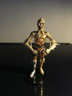 STAR WARS FIGURINE  ATTAKUS  C-3PO N° 700 METAL 10,5 cm
