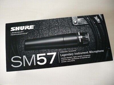 SHURE SM57 Dynamic Microphone No Switch Brand New from Japan