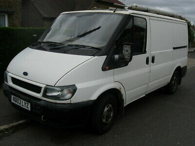 Ford Transit 2.0 swb low roof 2003 spares or repair. Low mileage. Needs welding