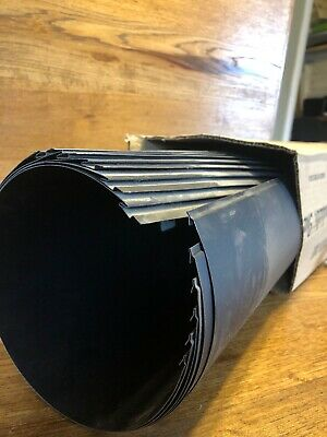 """6"""" X 24"""" 24 Gauge Lot of 6 Pipes Heavy Duty Black Stove Pipe"""