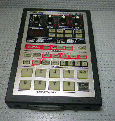 Sampleur Dr Sample SP-303 - BOSS + 64 MB card
