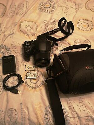 Sony Cyber-Shot DSC-HX300, 20.4MP, 50x zoom, bridge digital camera +bag +card
